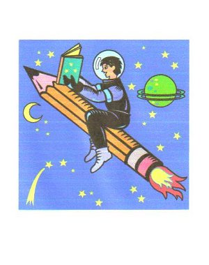 boy on rocket